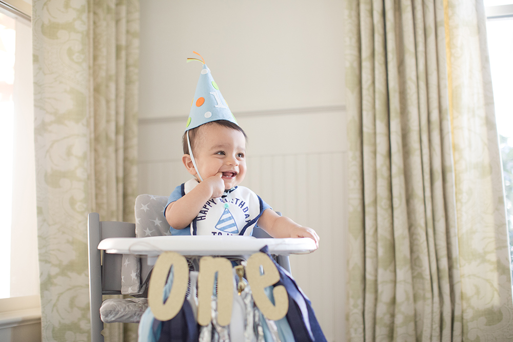 Charlotte Family Photography - Rohan One year Session