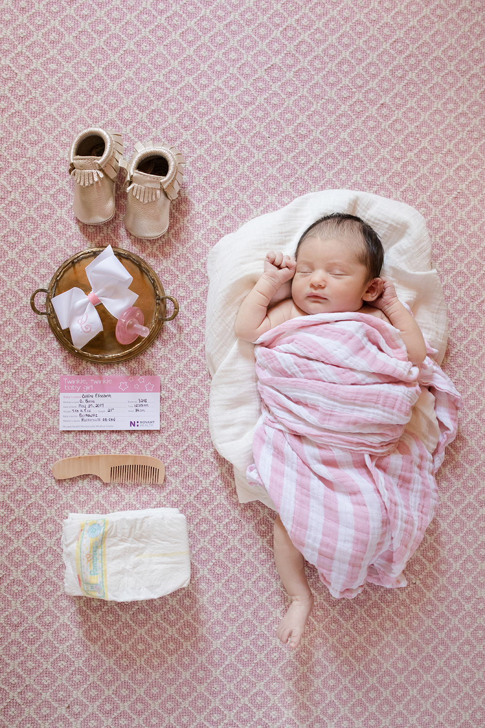 Charlotte Newborn Photography - Collins Elizabeth