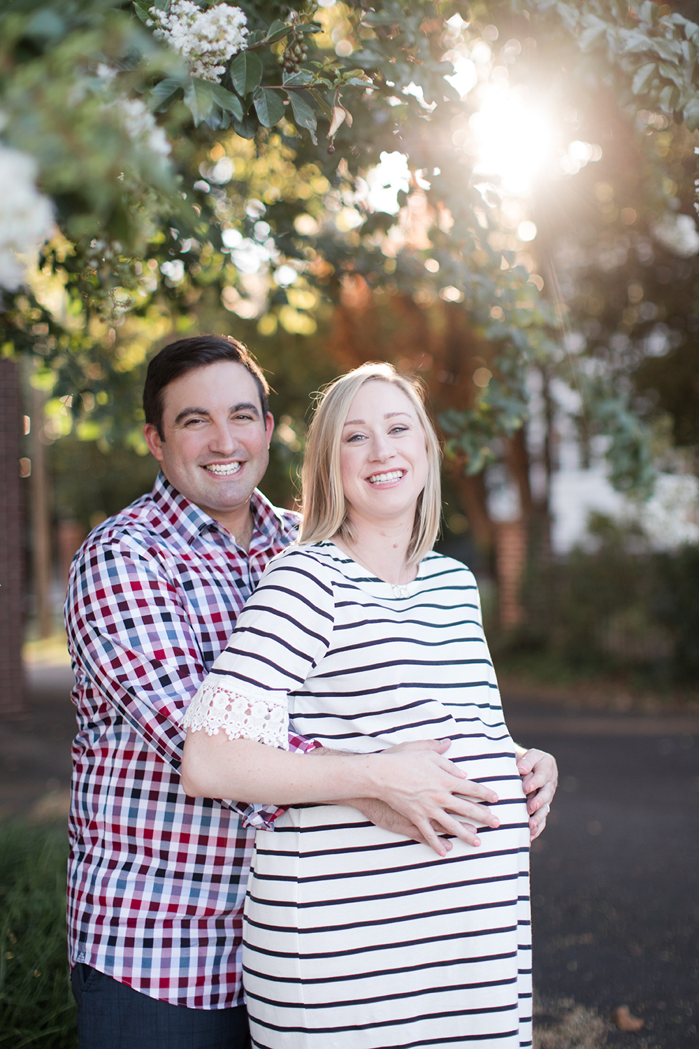 Charlotte Maternity Photography - Tom and