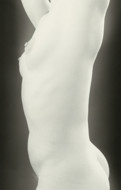 Alabaster , 1983  Gelatin silver photograph on mount.   6 3/8 x 4 1/8 inches