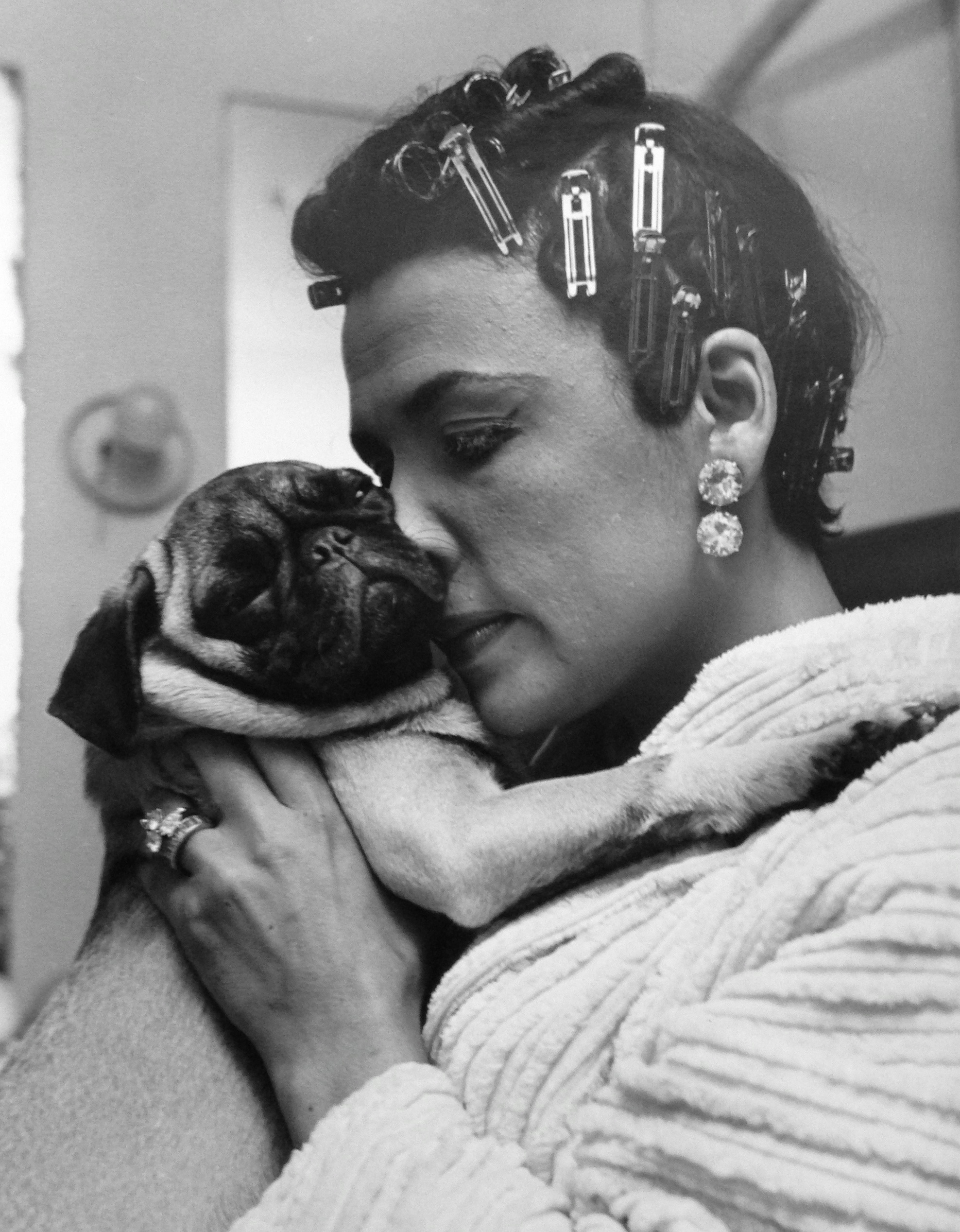 Lena Horne , c. 1955  Gelatin silver photograph.  13 1/2 x 10 1/4 inches