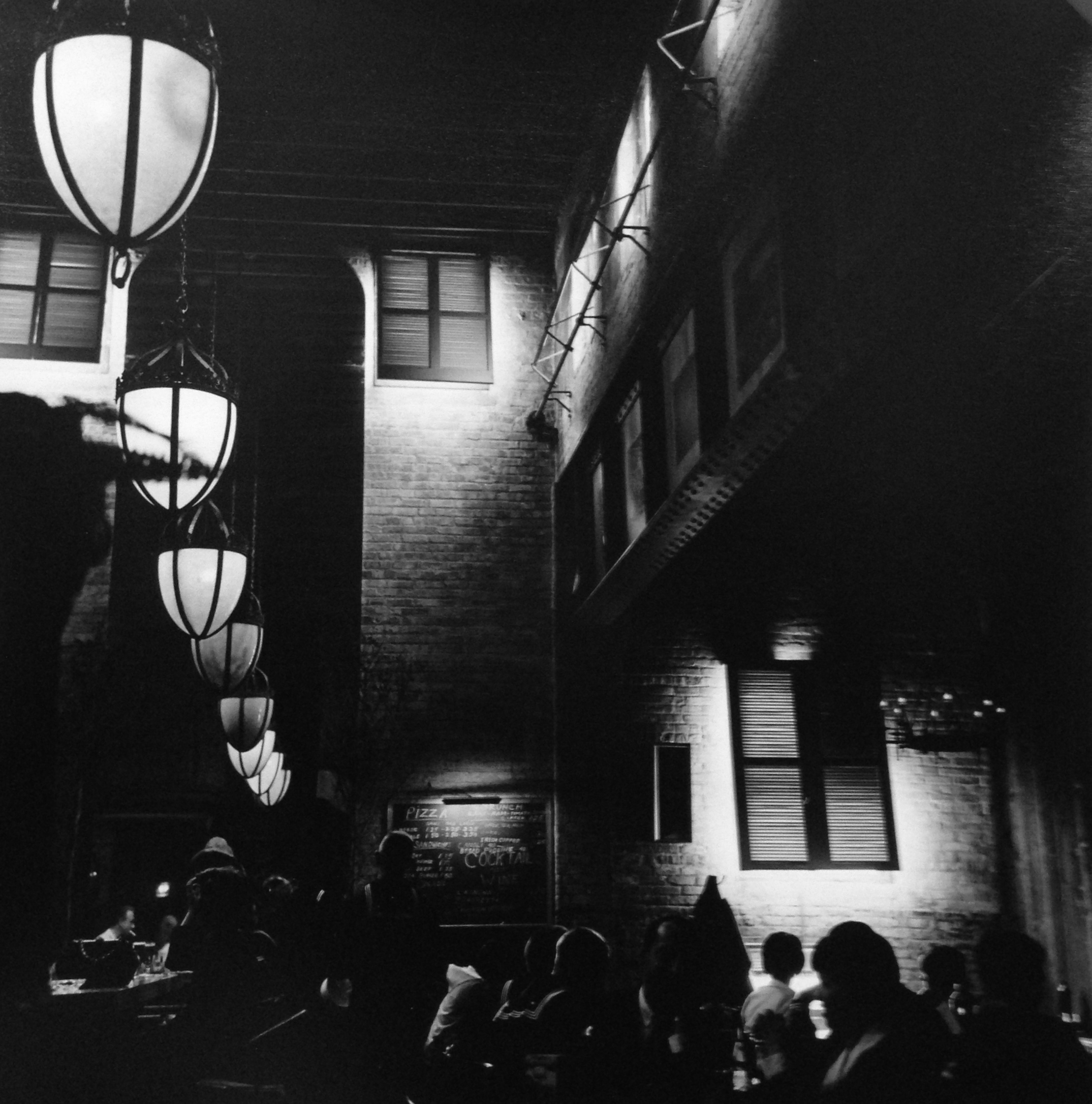 Old Town Cafe , Chicago, 1967  Gelatin silver photograph.  10 3/4 x 10 1/2 inches