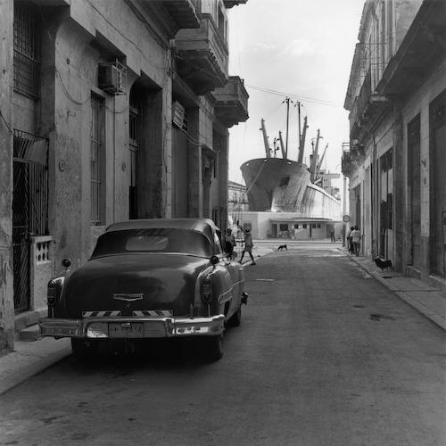 """Homenaje a Titón"", La Habana, Cuba , 1999-2000  Silver gelatin print.  16 x 20 inches (paper)"