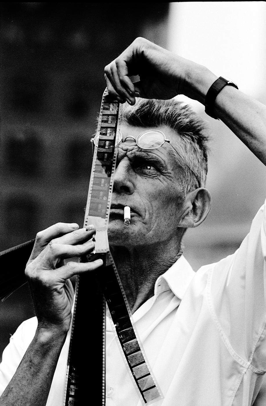 31 Beckett with film.jpg