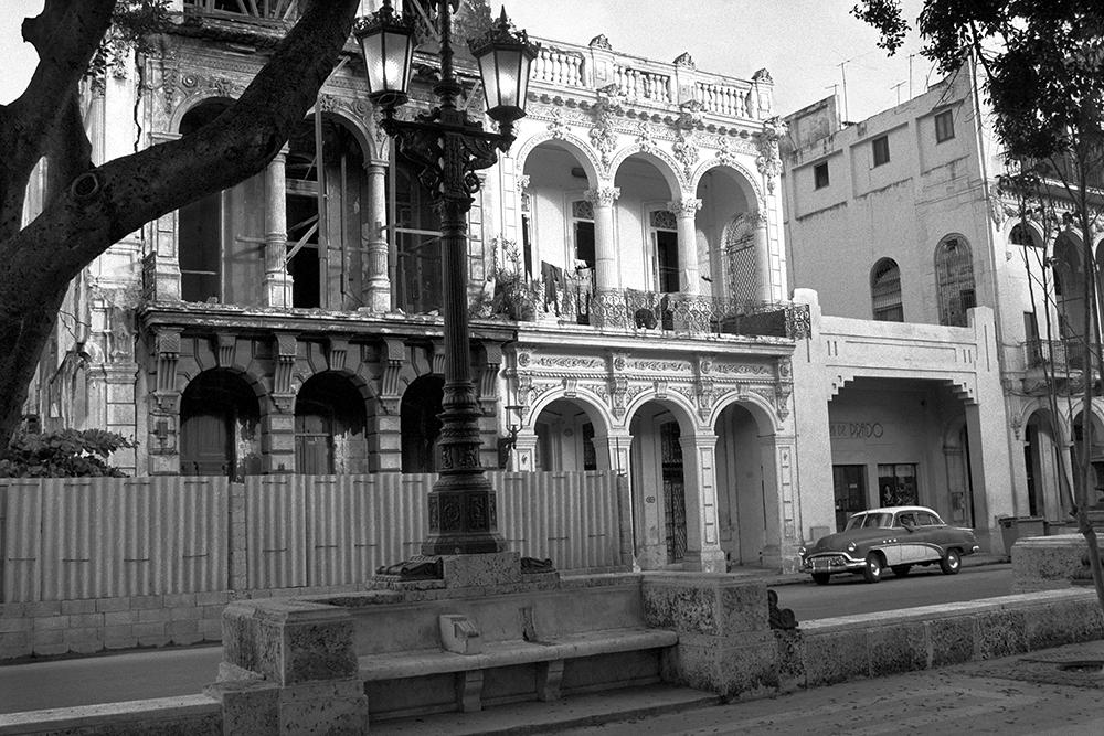 """Paseo del Prado , Havana, Cuba, 1999  Archival Inkjet Print  13 3/8 x 20"""" $800"""