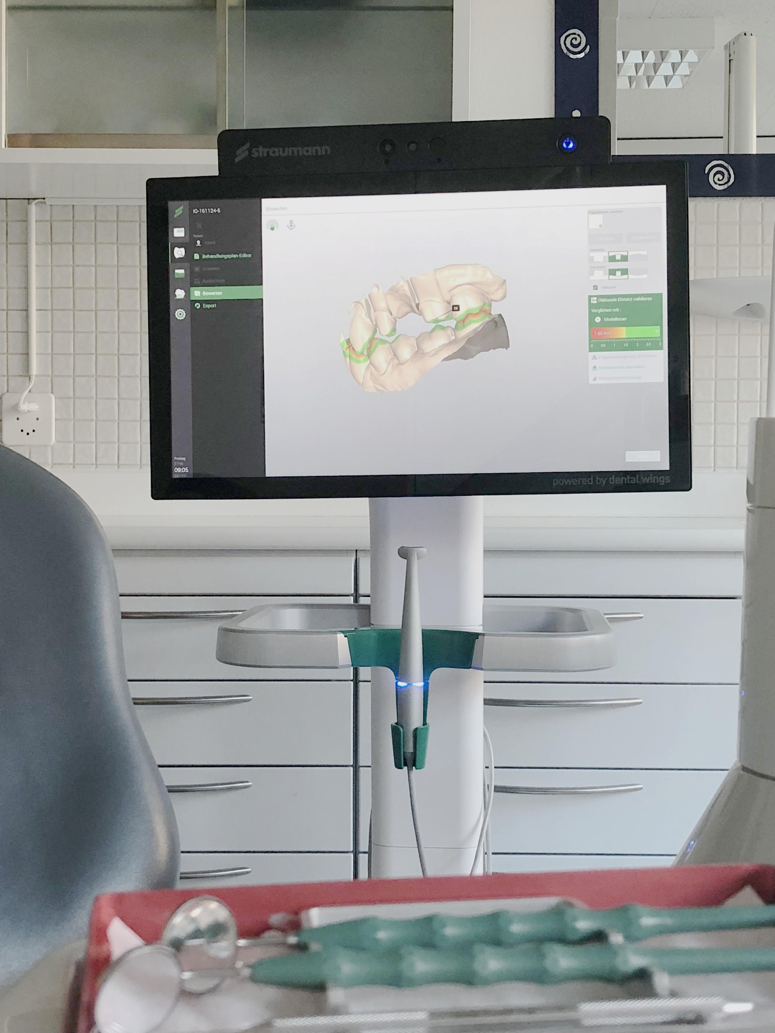 Straumann Intraoral-Scanner
