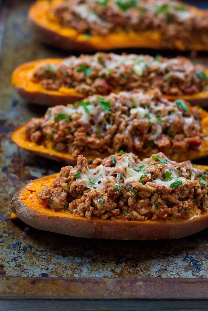 Turkey-Taco-Stuffed-Sweet-Potatoes-Recipe-Cookin-Canuck-3.jpg