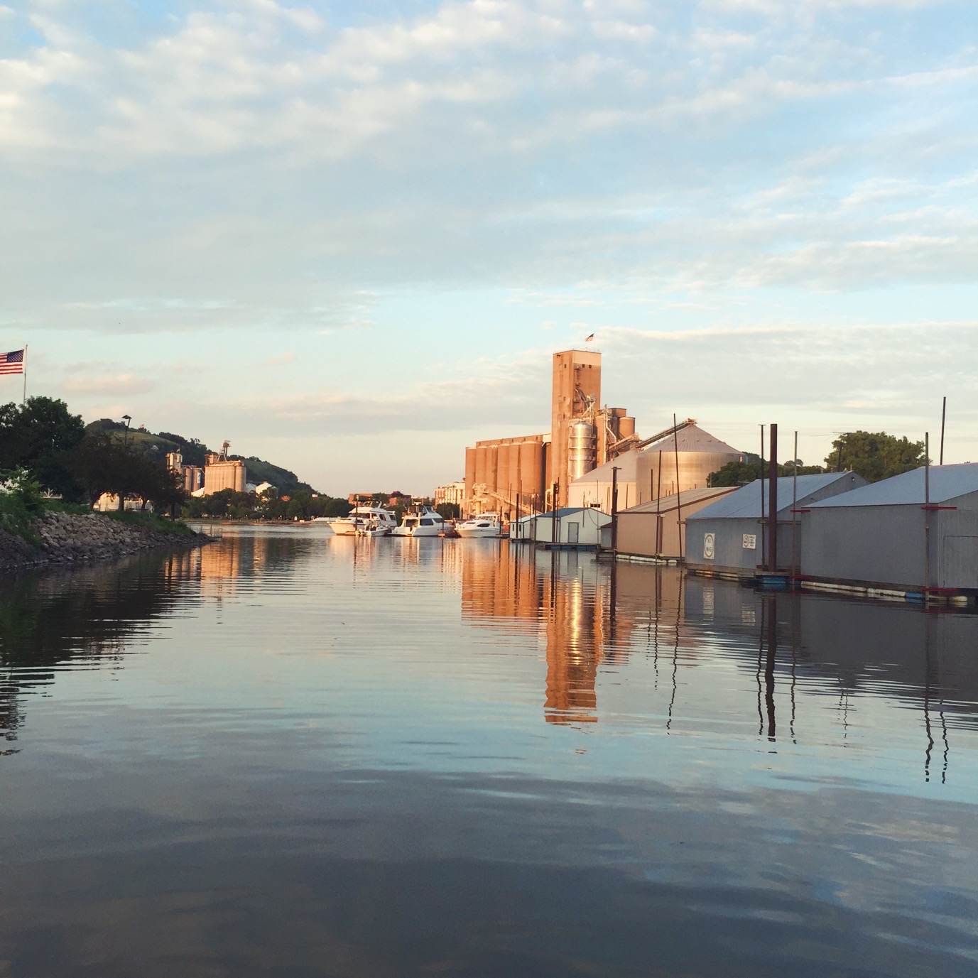 The Mississippi River & Red Wing -