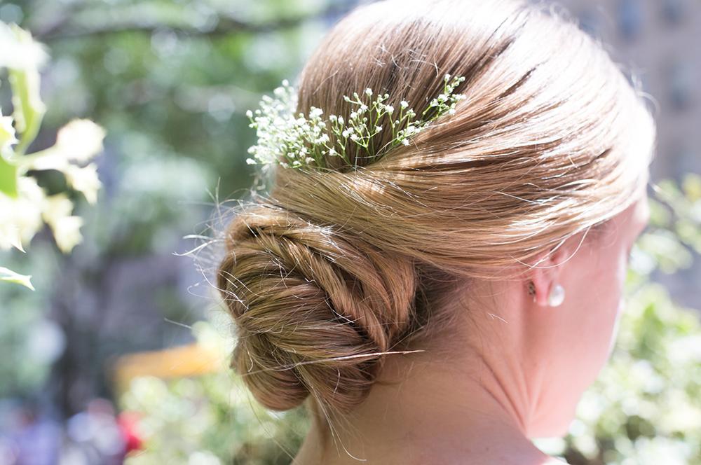Bridal hair by Morphic