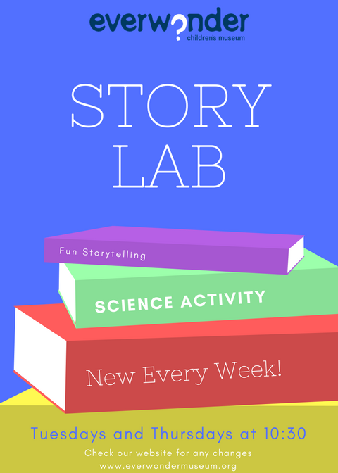 Join us for a storytelling followed by a fun science activity.