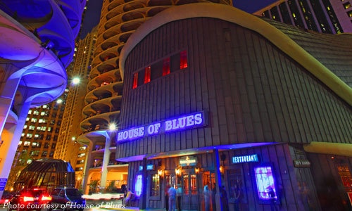 Image of the House of Blues Chicago, courtesy of the House of Blues website.