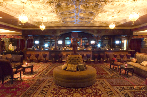 Image of The Foundation Room, courtesy of the House of Blues website