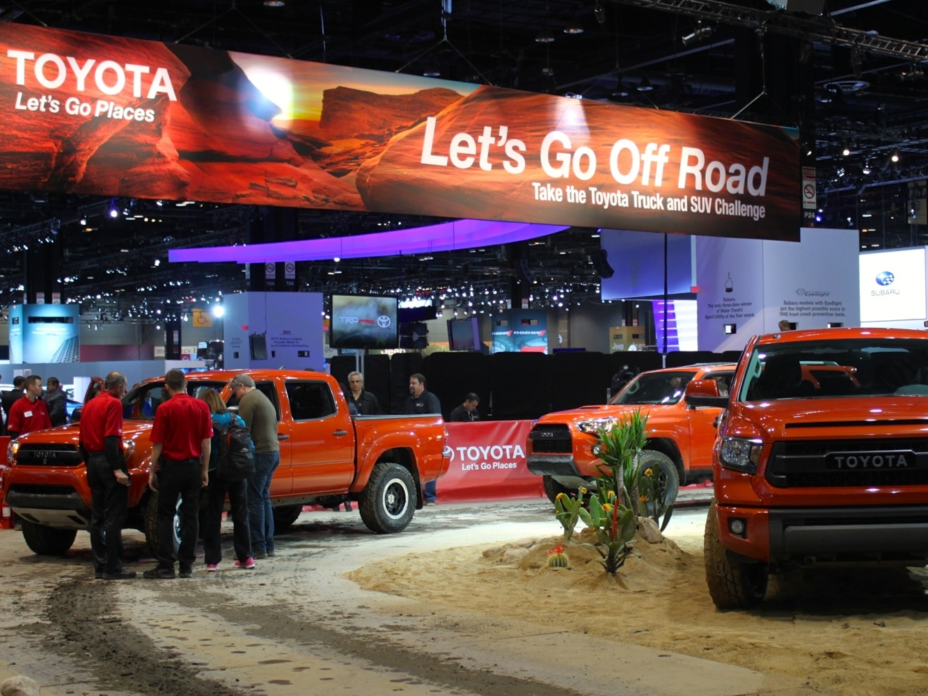 Chicago Auto Show Booth: McCormick Place