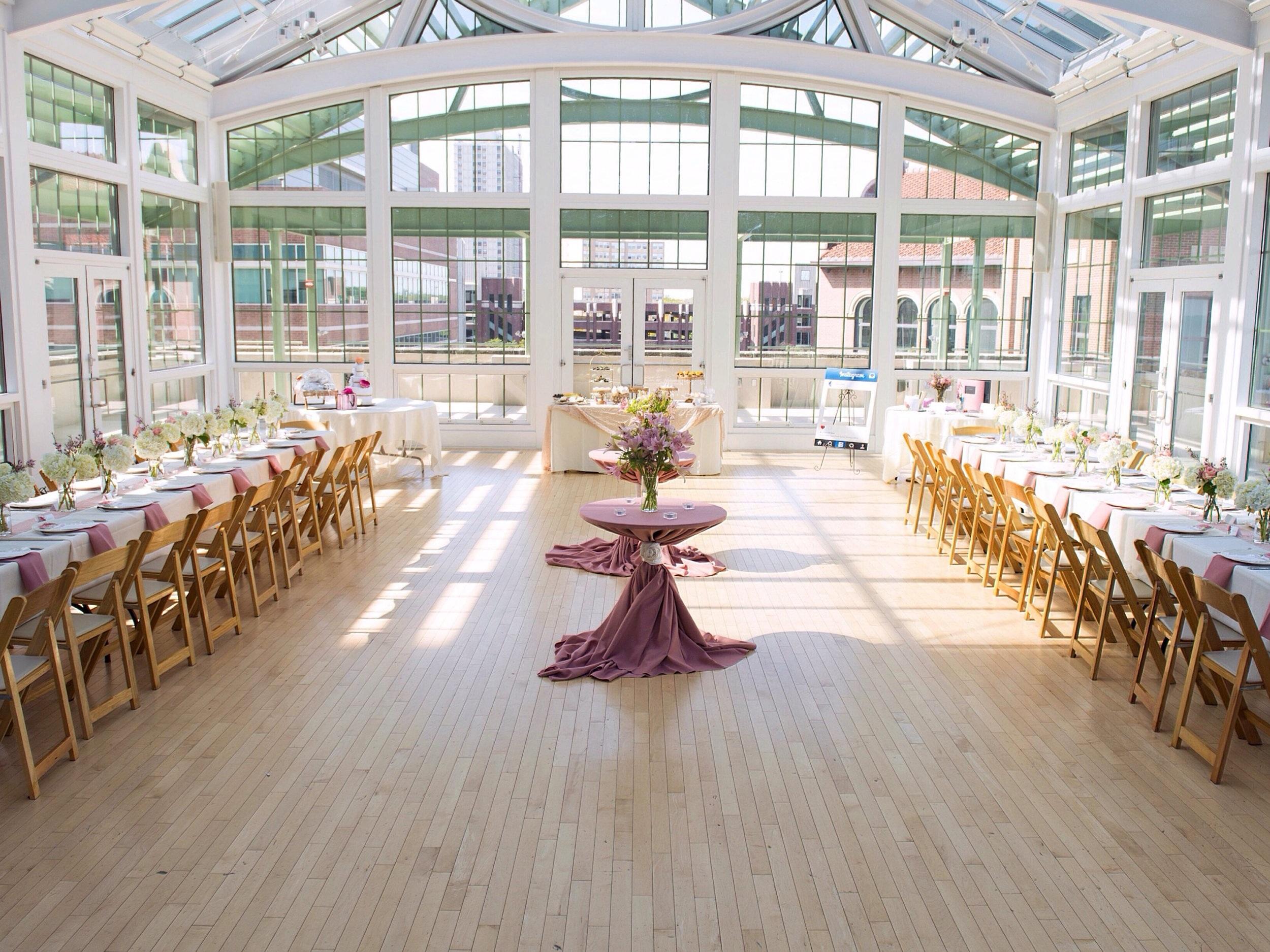 Wedding Shower: Palm Court