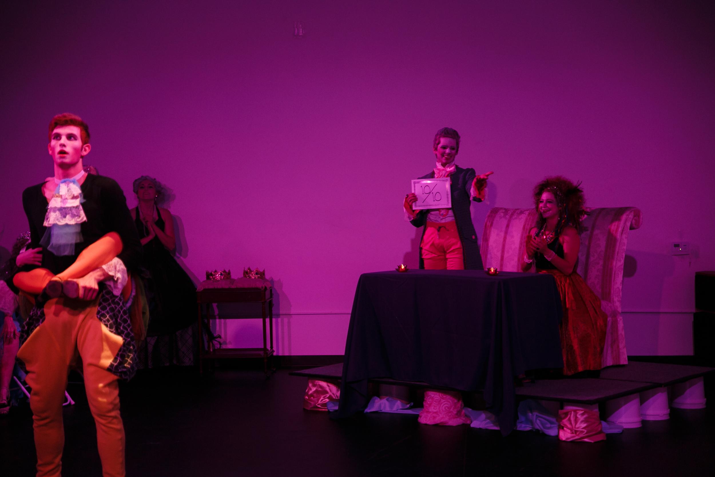 Actors performing in NunaMaana show