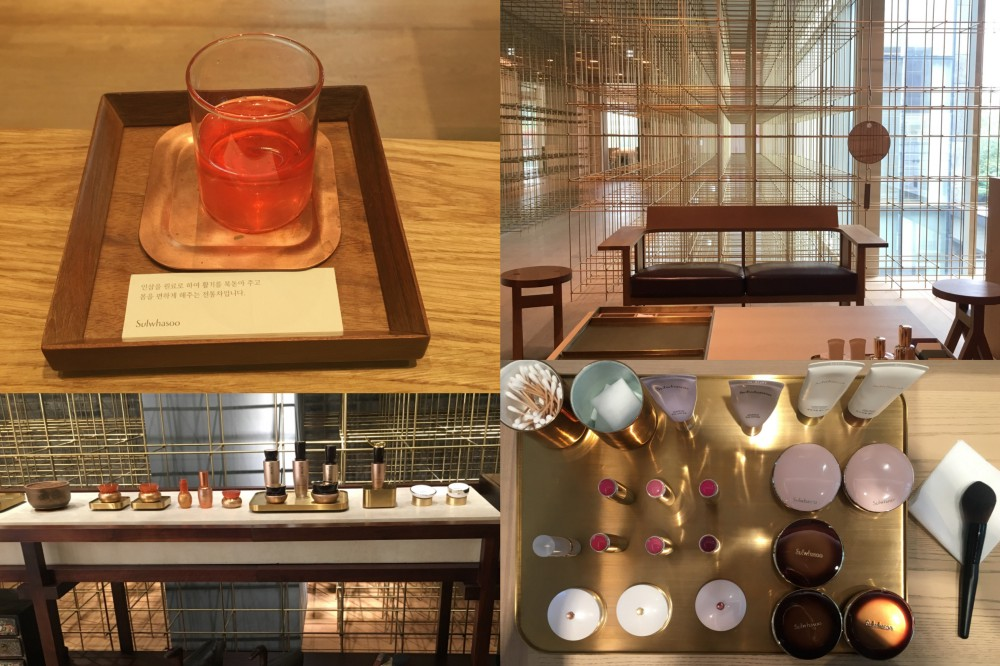Sulwhasoo Flagship, SPA and museum: 18 Dosan-daero 45-gil, Sinsa-dong, Gangnam-gu, Seoul