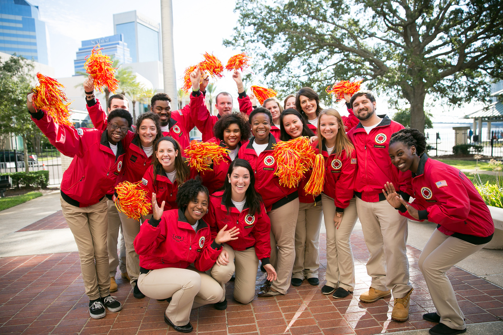 KUDOS TO  SELINA FOR HER COMMITMENT TO A SECOND YEAR AS A CITY YEAR AMERICORPS MEMBER!