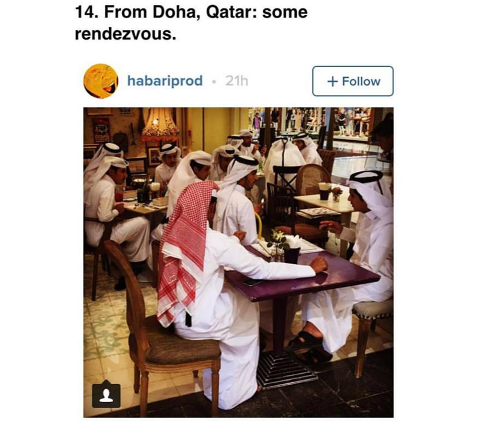 That time we got Doha's Sugar and Spice cafe into Australian BuzzFeed. Yep, that's pretty random.