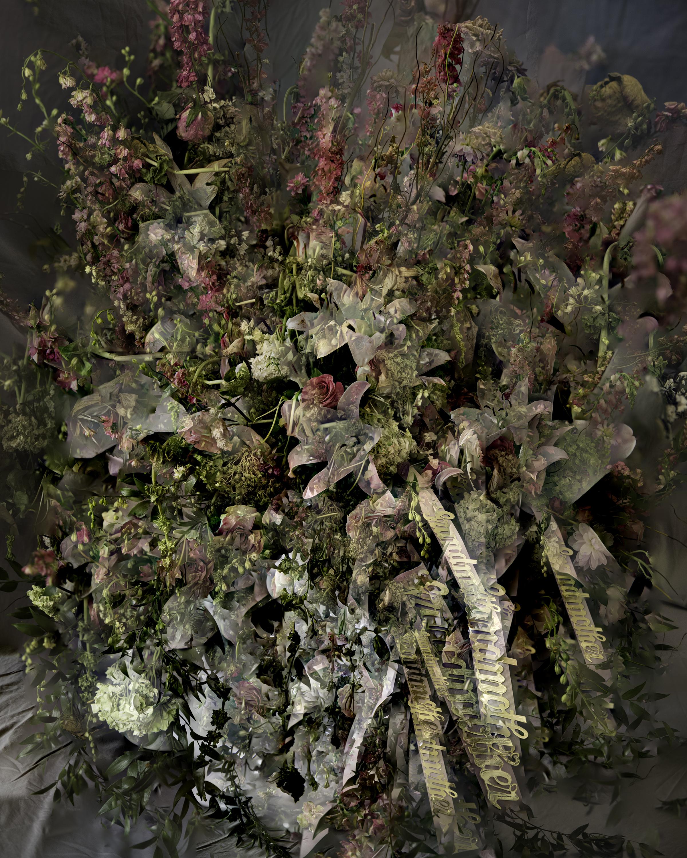 Grandma's Funeral Flowers (Focus Stack, 65 Images)