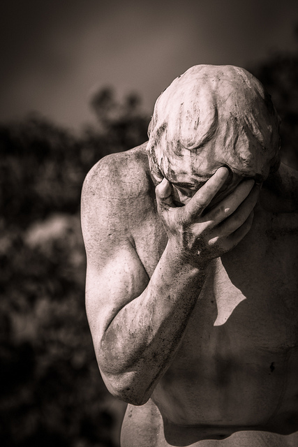 """""""Sadness and despair""""  BY   sylvain.collet iS LICENSED UNDER  CC By2.0"""