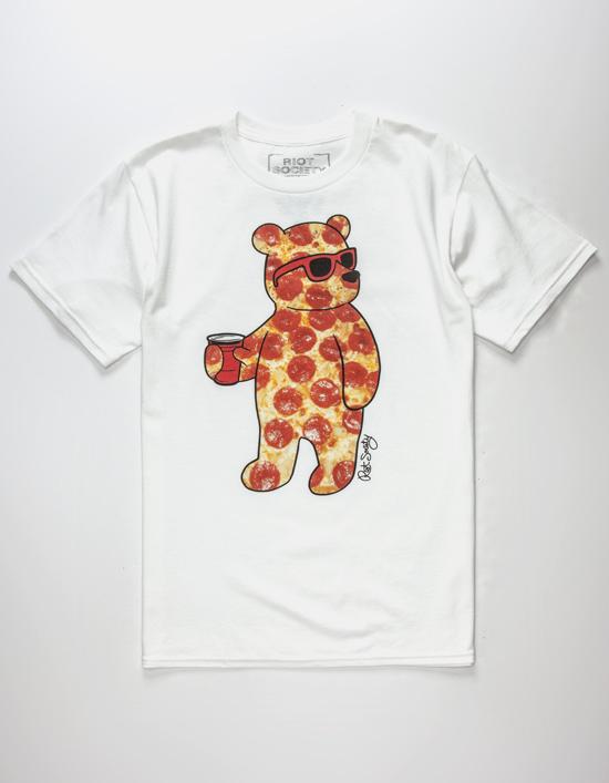 """Riot Society - """"Pizza Bear"""" T-Shirt!"""