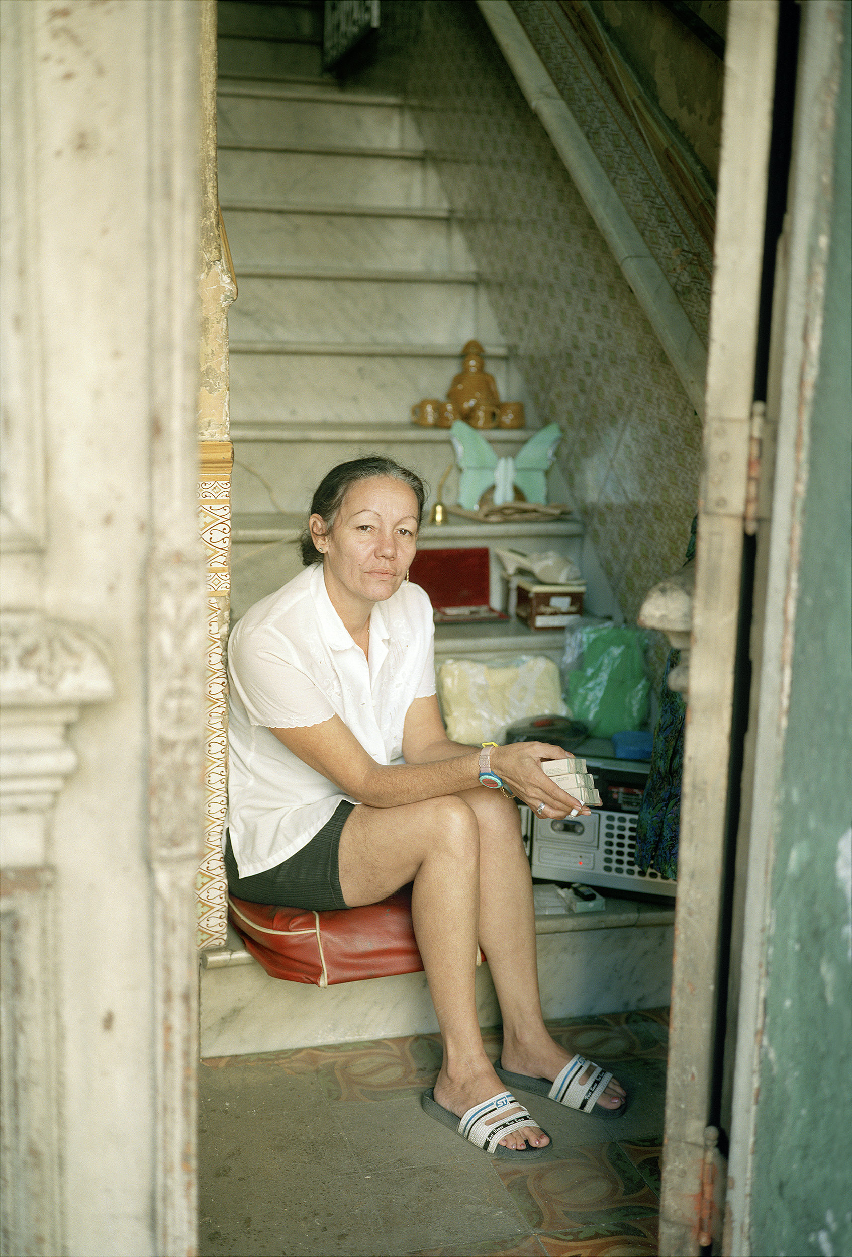 Woman Selling_Central Havana, Cuba