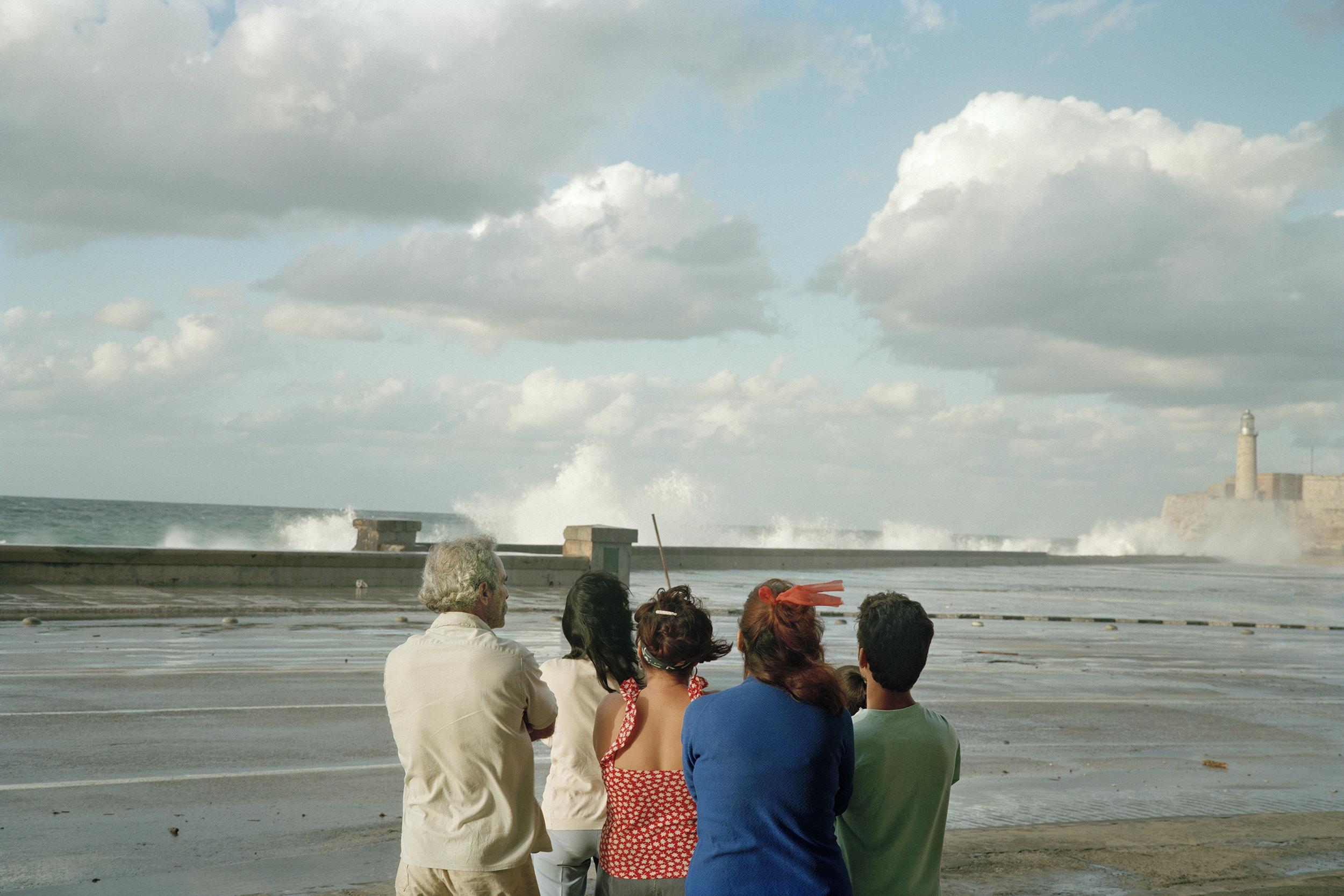 Waves Malecon-Havana, Cuba