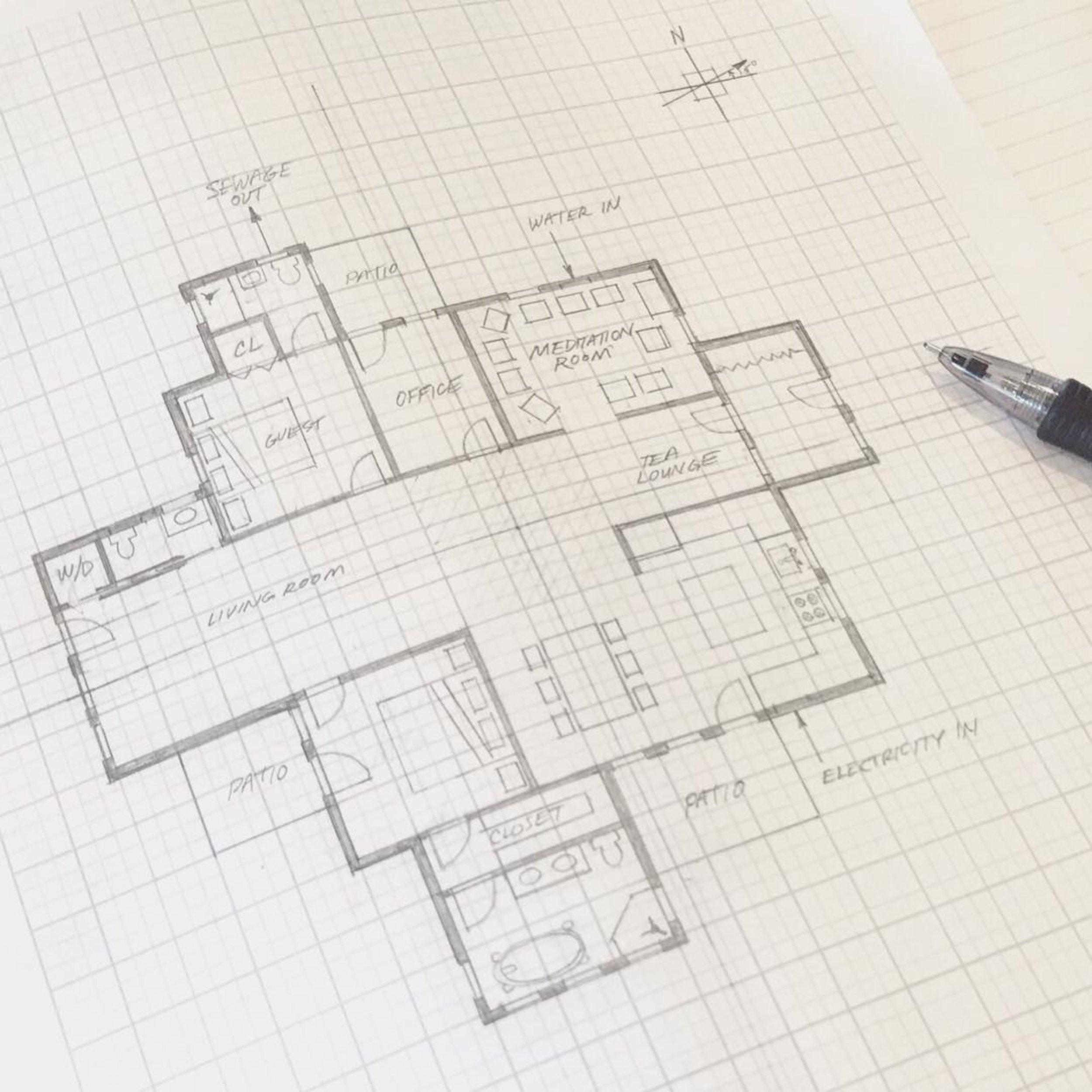 Vaastu floor plan Hunter Cressman