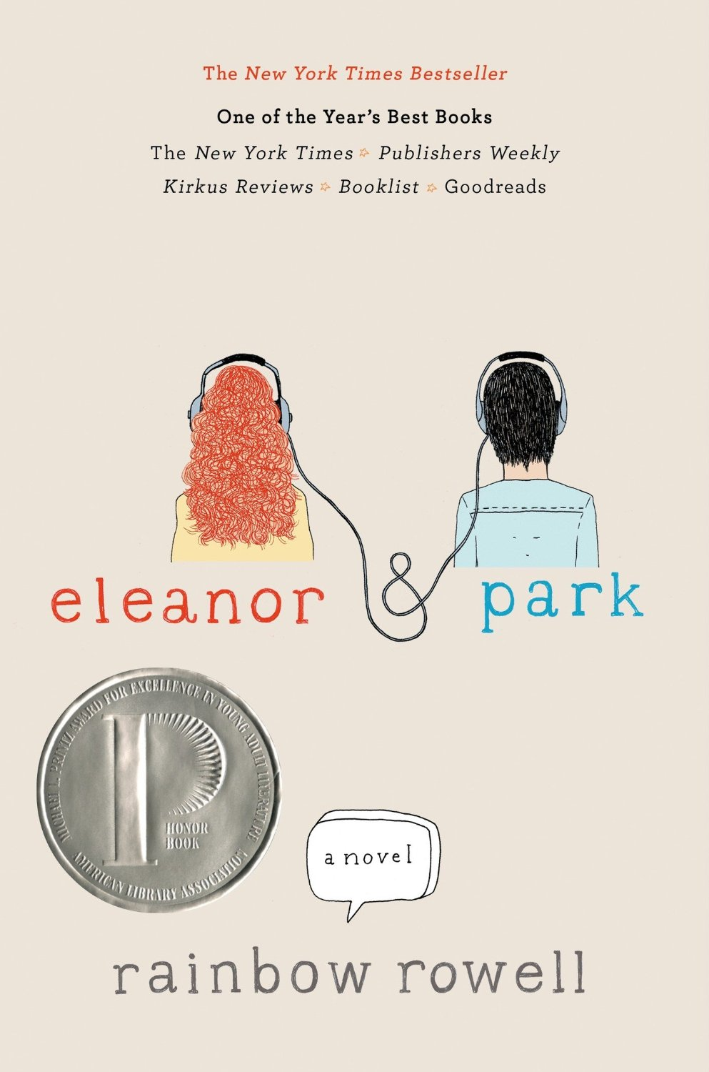 Eleanor & Park by Rainbow Rowell!