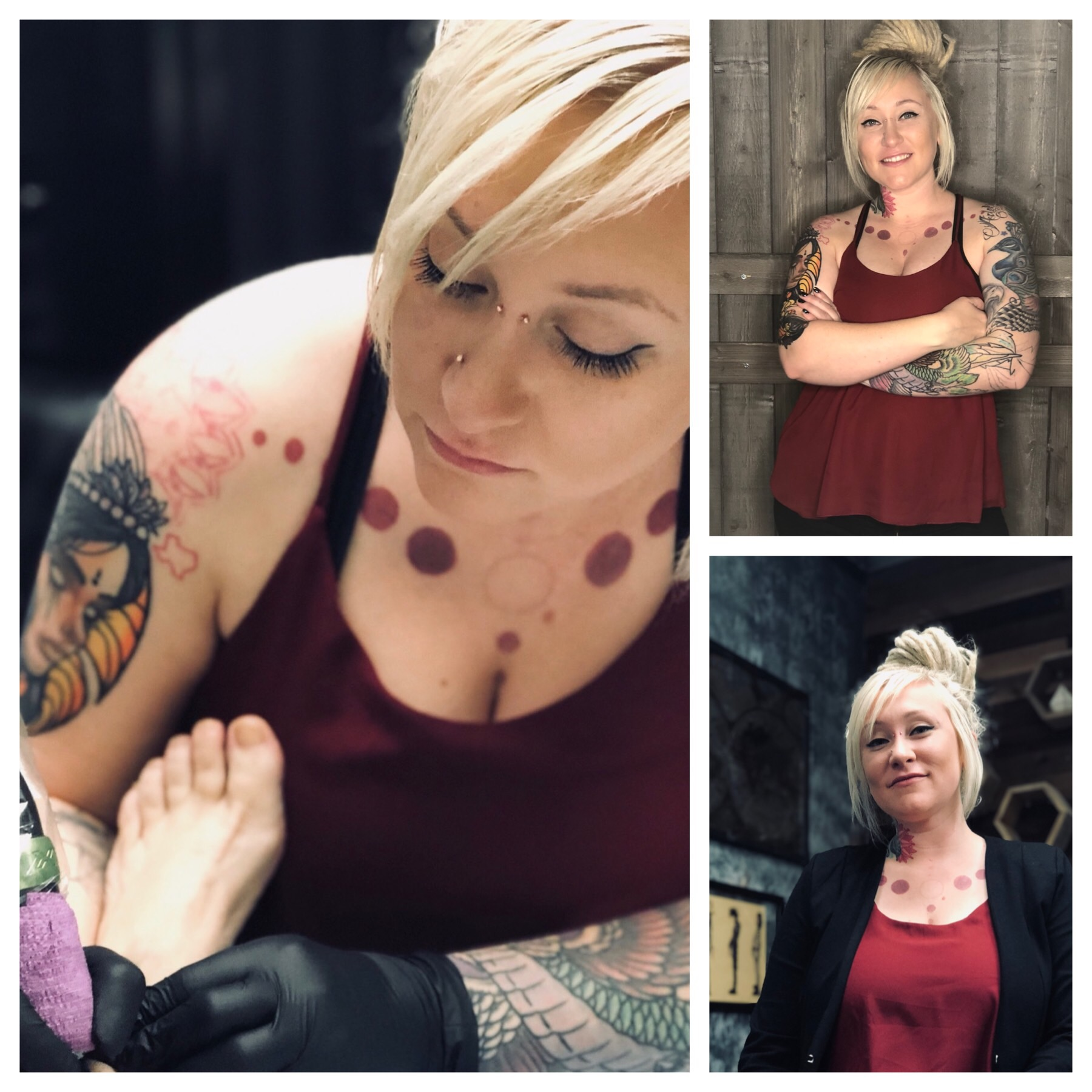 Mo Southern - Tattoo Dept ManagerMo Southern has been tattooing since 2006. She is a well rounded tattooer who can do most any style. Her specialties include black and grey realism, color realism, dotwork/mandalas, and watercolor.Published on VoyageLA and has been featured on many other online publications!Along with tattooing, her passions extend into the field of permanent cosmetics. As of 2017 she obtained her certification in Eyebrow Microblading. She also specializes in eyeliner tattooing and freckles.All tattoo pricing is done with an in-person consultation which can be booked online at mosouthern.com/schedule. For out of state clients please email at mmsouthern@gmail.com for booking.No consultation needed for permanent cosmetic procedures - click here for booking.