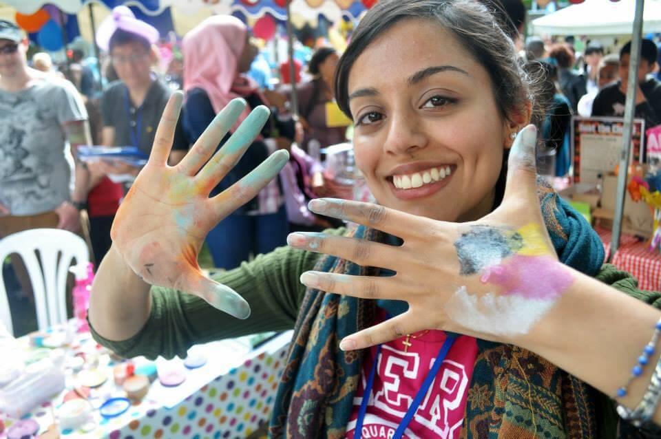 Face Painter At SouthWest Fest