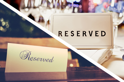 Both Wedding Island and Gore Range Room Reserved