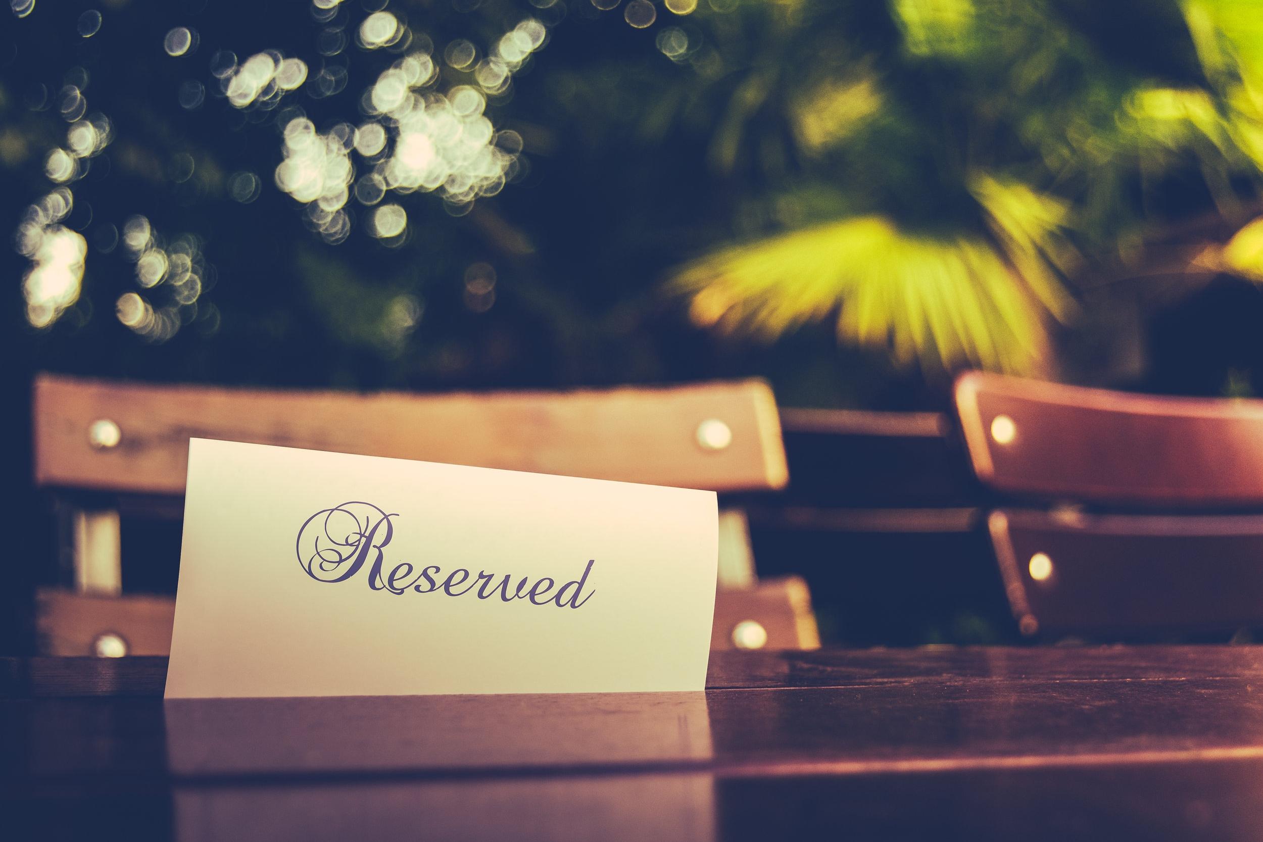 Wedding Island Reserved