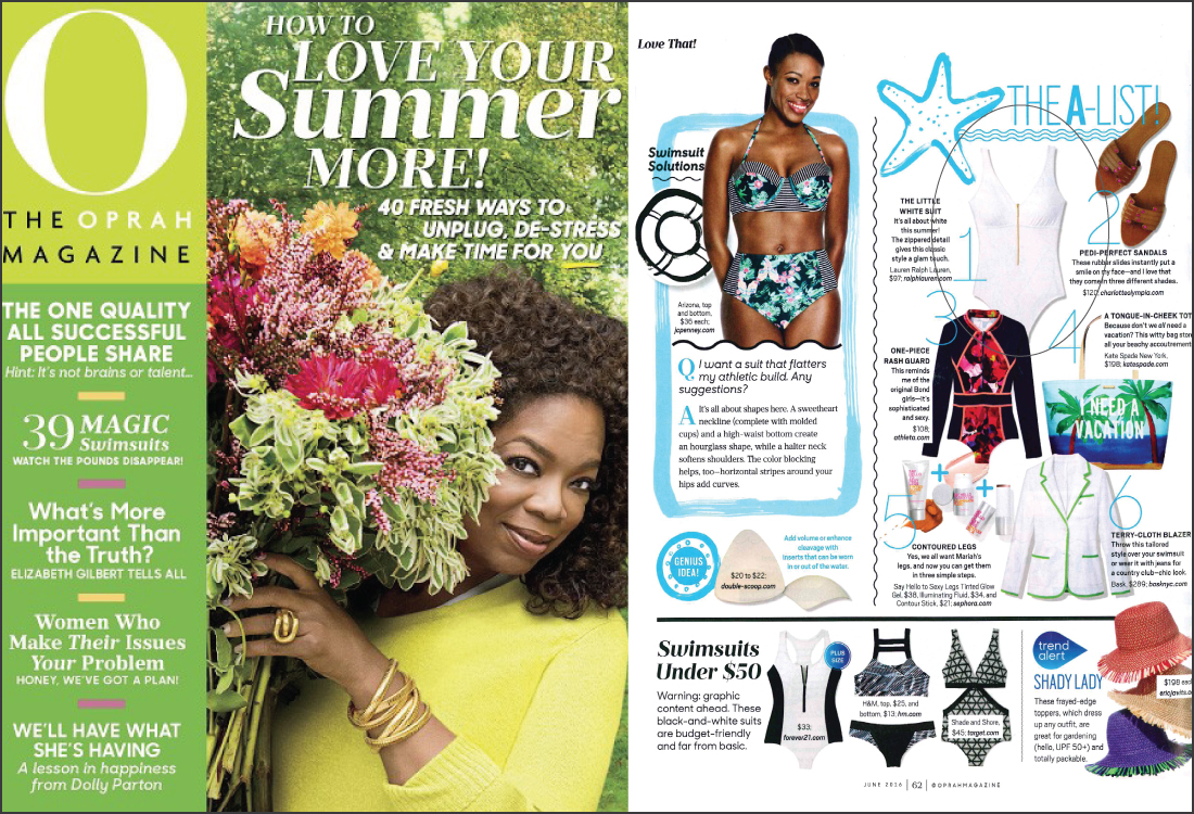 The Oprah Magazine, June 2016