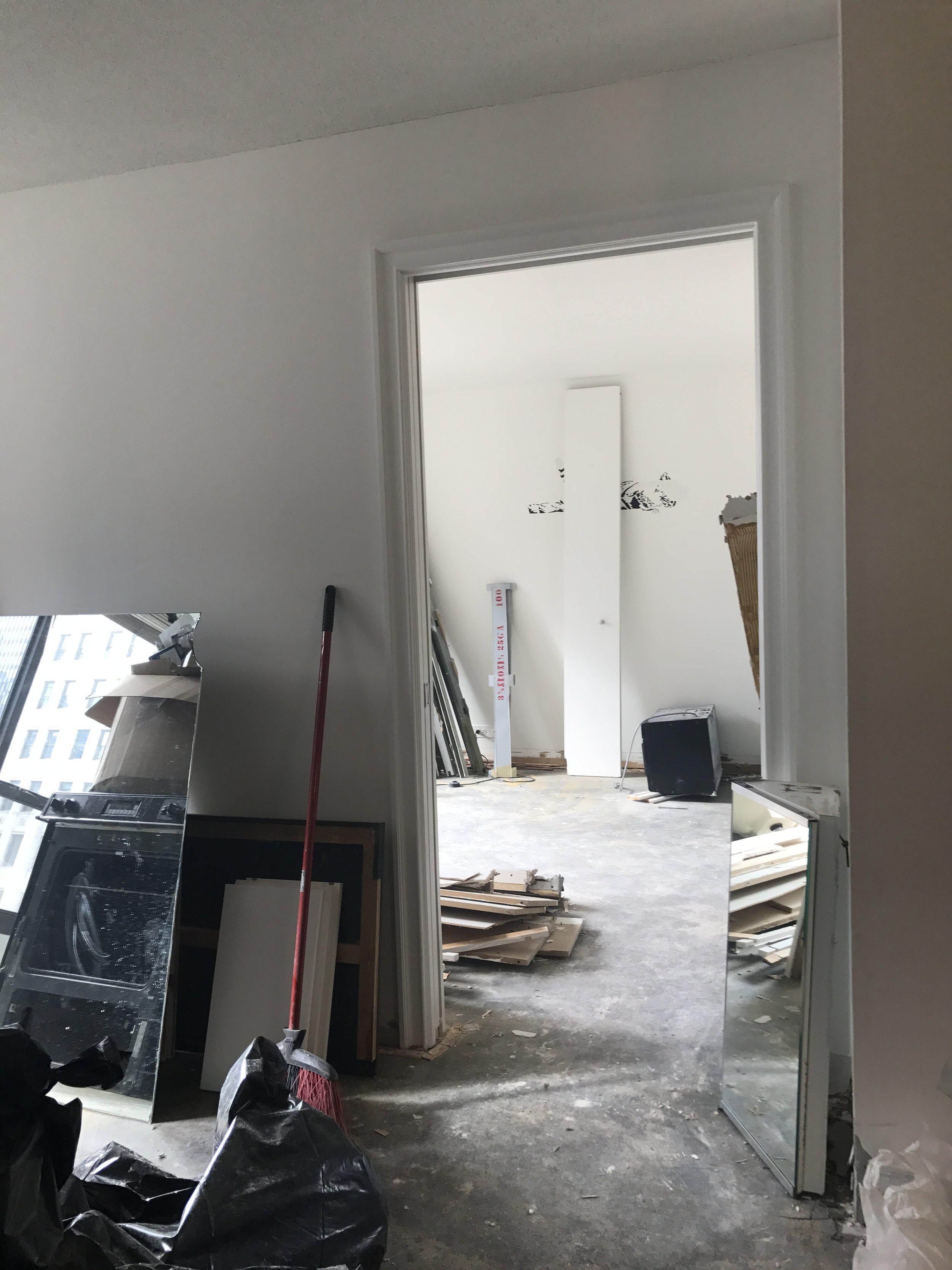 Bedroom: Post-Demolition