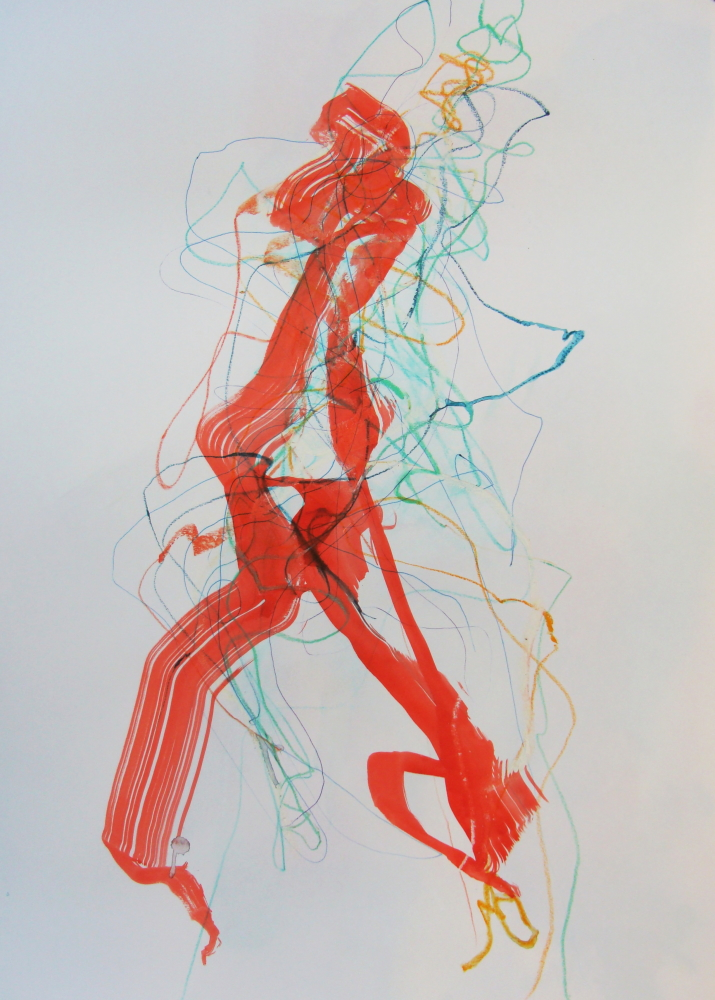 Tracy Burgess - ENERGY DRAWING 2 - mixed media on paper on Paper.jpg