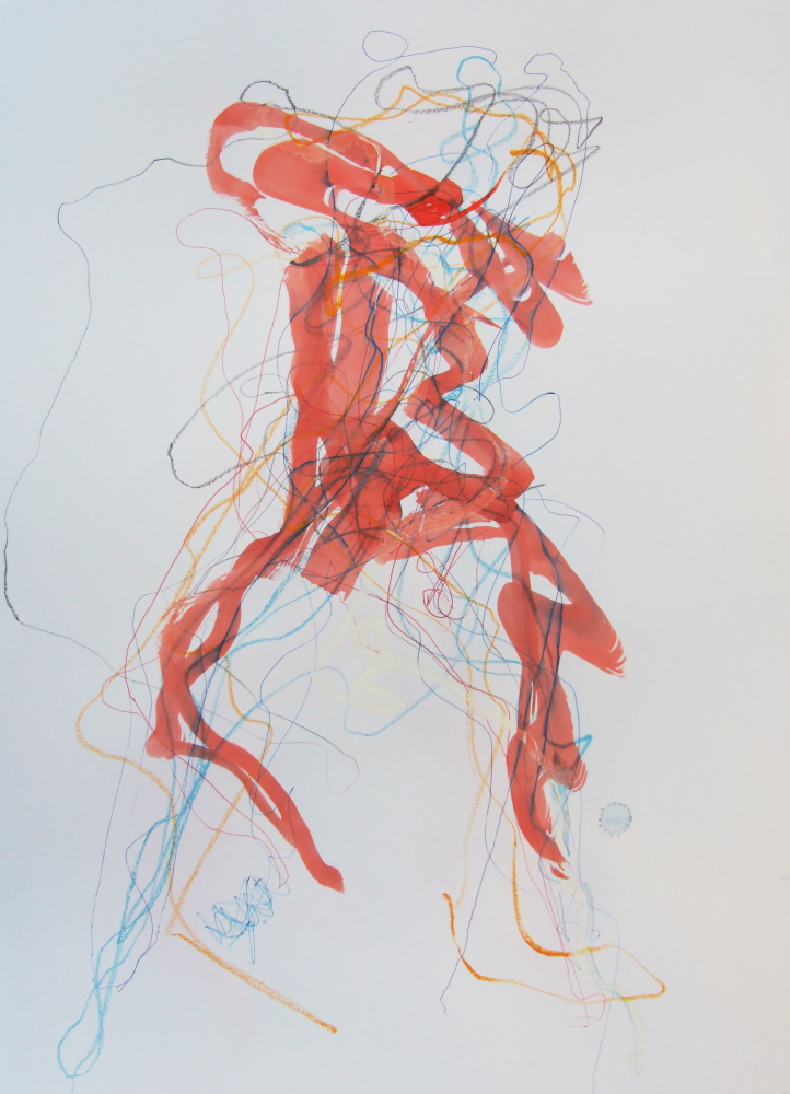 Tracy Burgess - ENERGY DRAWING 1 - mixed media on paper on Paper.jpg