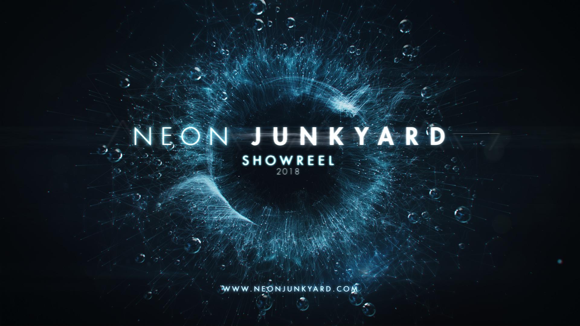 Neon Junkyards Outro Houdini Showreel 2018