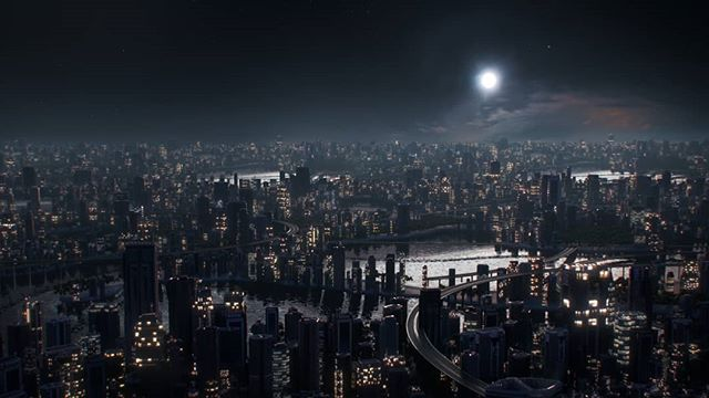 Procedural cities in Houdini part 4 cont.  Full HD version of Houdini night cities, a la my previous post.  All new versions, all new adventures, all new fun  Made in #houdini  #3d #motion #vfx #cg #redshift #city #cities #photography #urban #inspiration #adobe #art #design #digitalart #cinema4d #awesome_surreal #mdcommunity @ssequential @motiongraphics_collective @motiondesigners @artcube