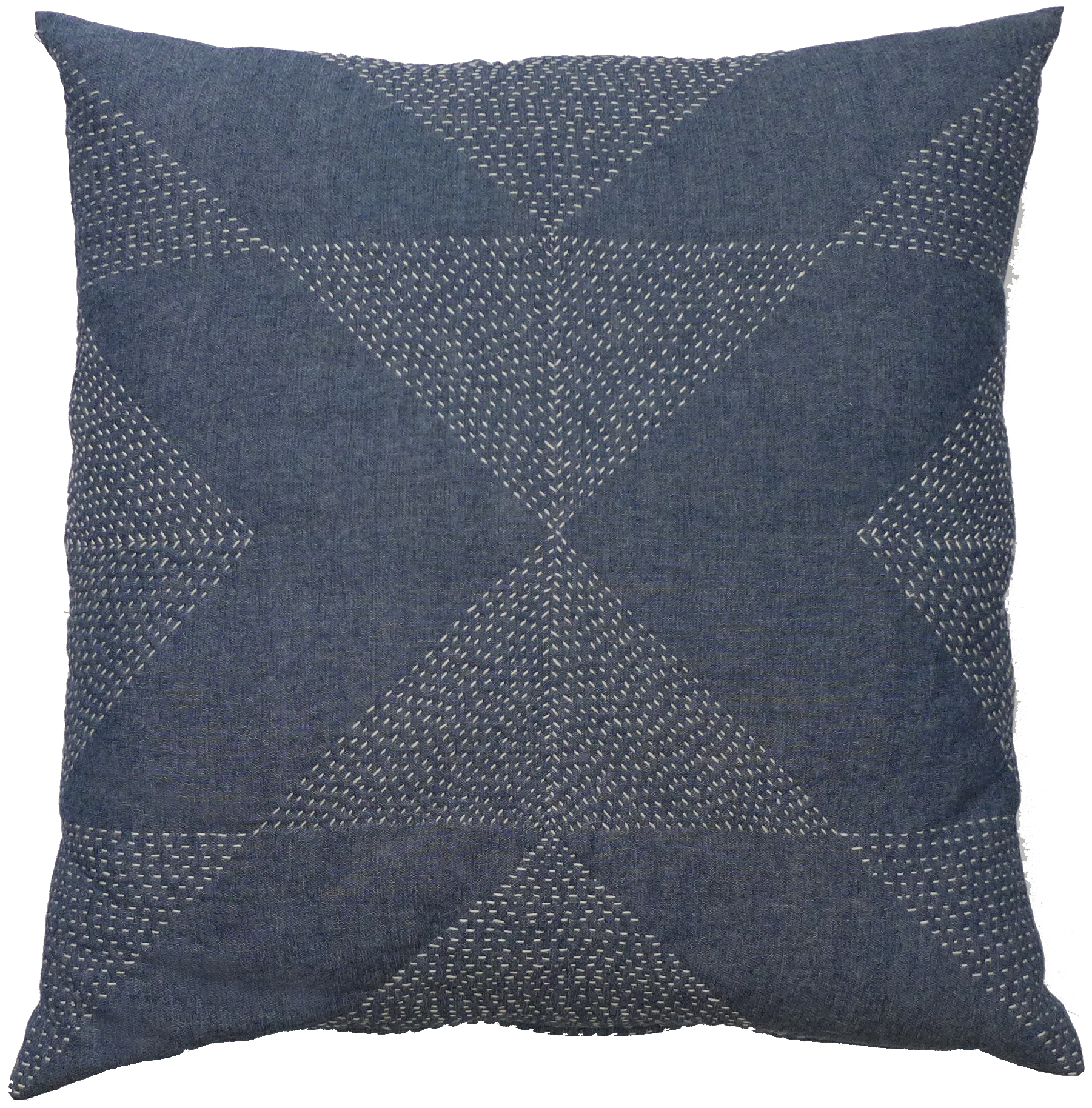 Crosspath Chambray Pillow