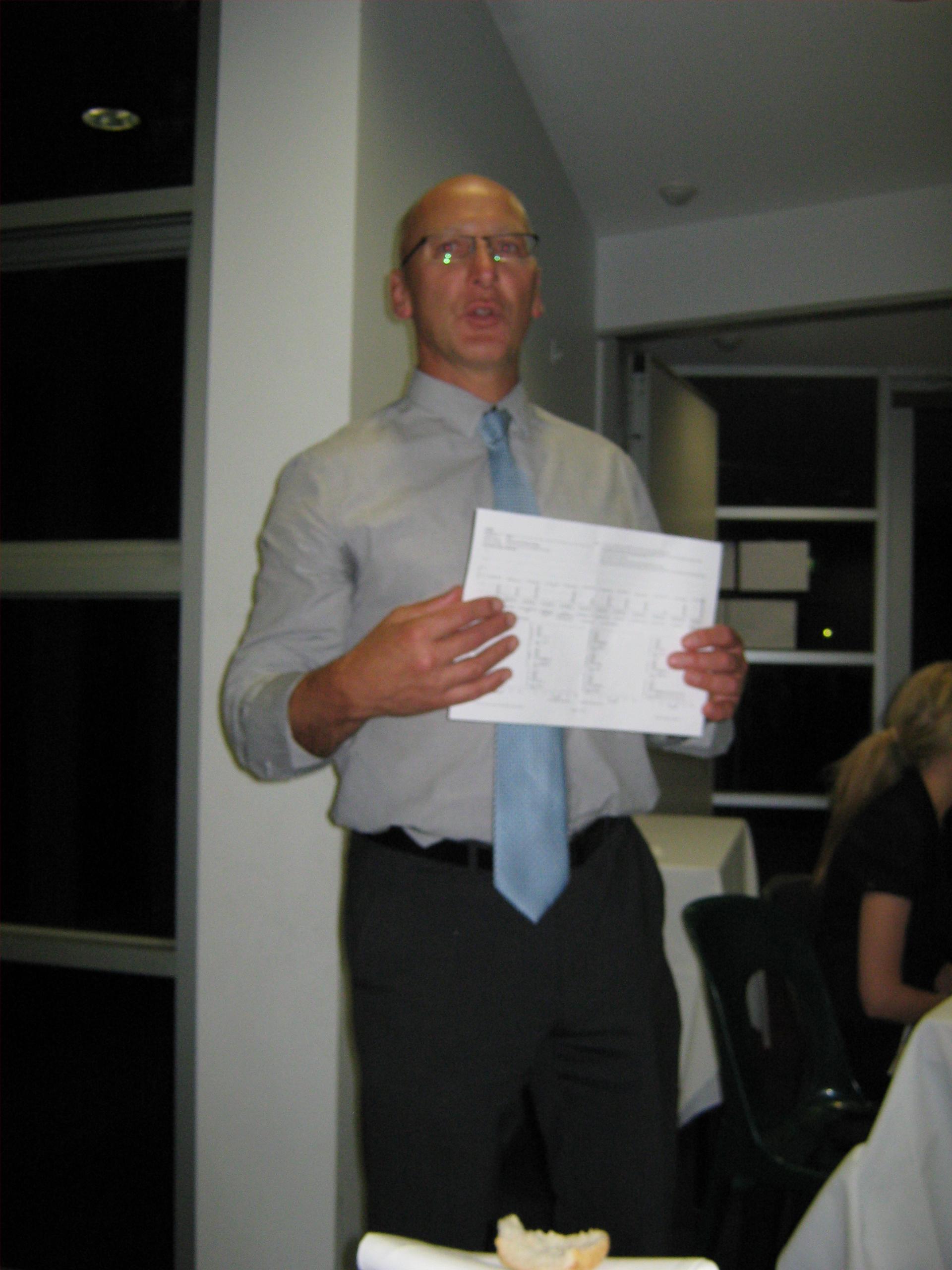 Our Principal Mr Dingle