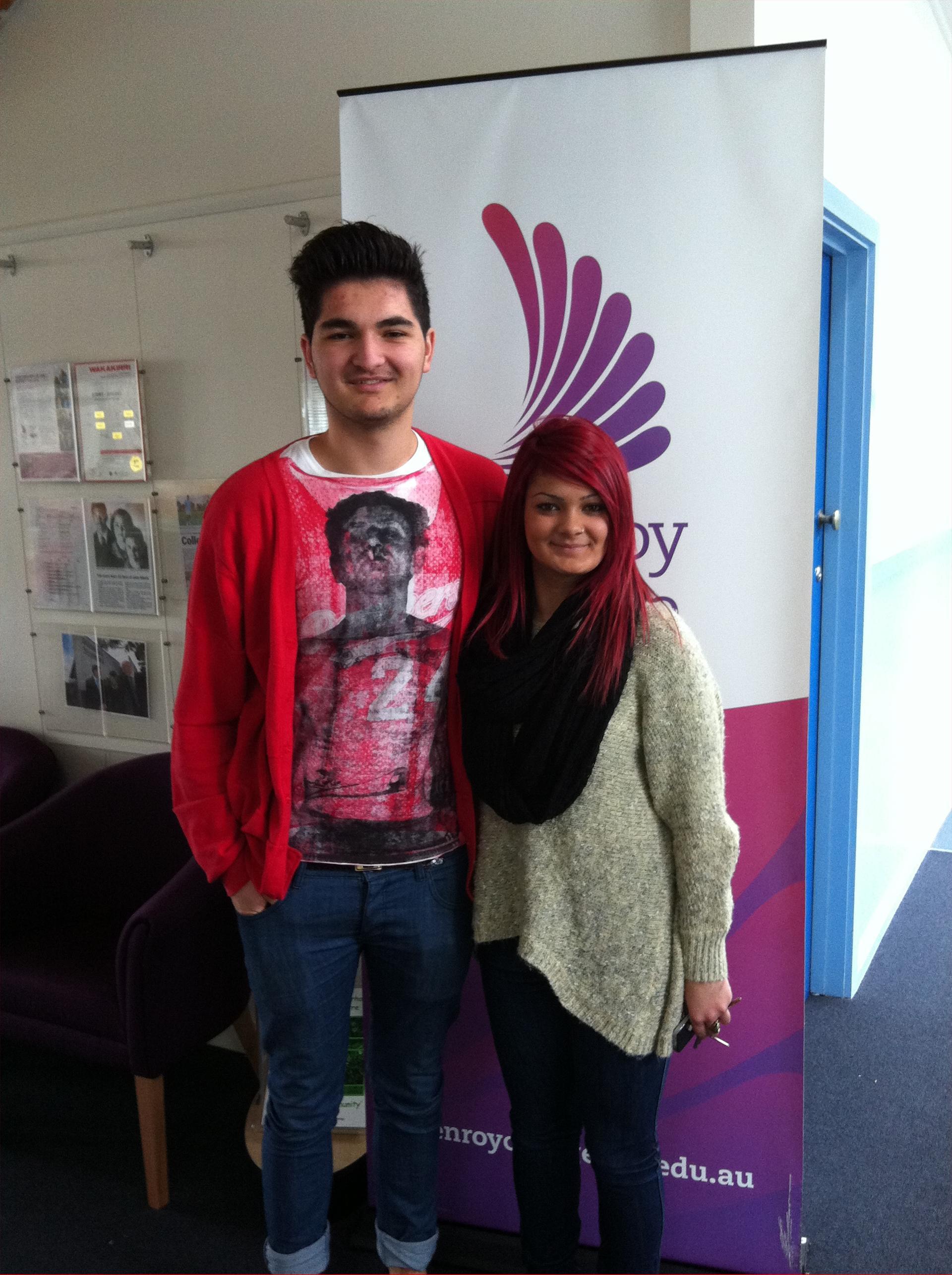 Efecan Yucedag & Jasmin Moloney
