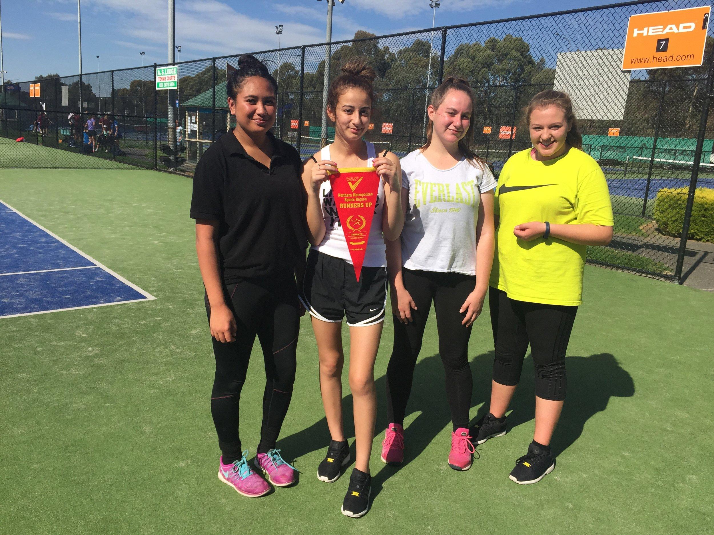 Girls Tennis Champions