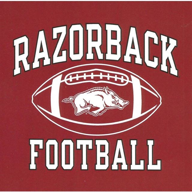 We will be at the game TODAY 3-6 behind the Alumni House which is across the street from the northwest endzone. HOT balls on a COLD day 😋  #arkansasrazorbacks #gohogs