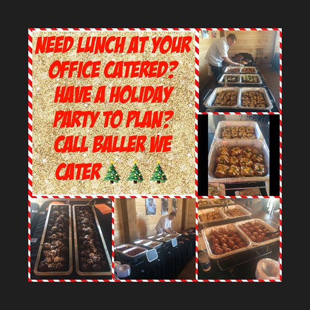For those who dont know WE CATER, so if you need a lunch at the office catered call us, if you need your holiday party catered call us. 479-619-6830 or theballerfoodtruck@yahoo.com or fill out a event form at Theballerfoodtruck.org