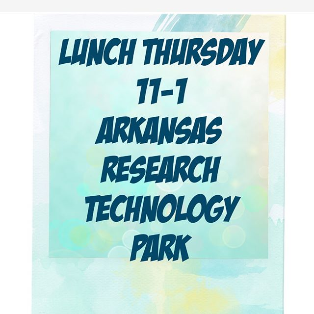Come have lunch with us THURSDAY 11-1 at Arkansas Research Technology Park. Cooler weather balls on the menu, Chili ball, Thanksgiving ball, Jambalaya ball and more. 🚚
