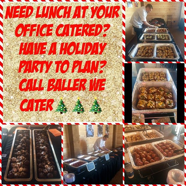 Call us for all your catering needs. 479-619-6830 email Theballerfoodtruck@ yahoo.com