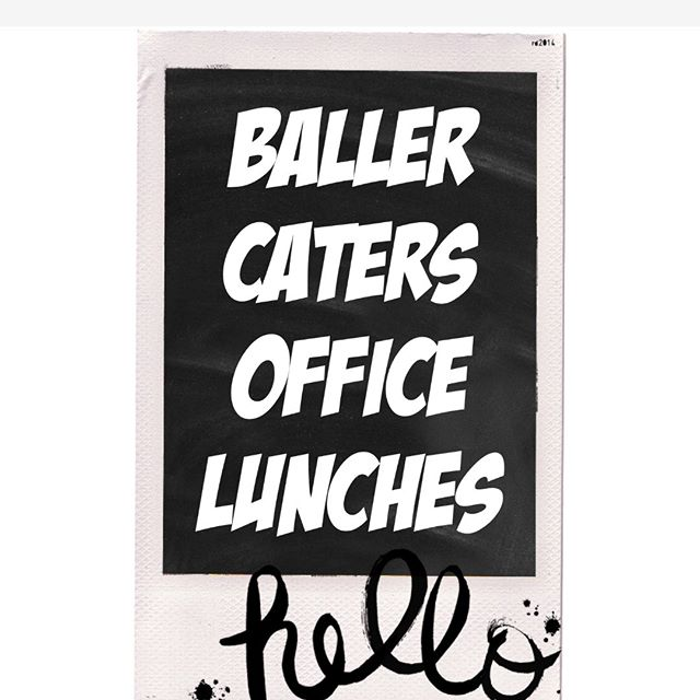 Give us a call to cater your business lunch. 479-619-6830 🚚