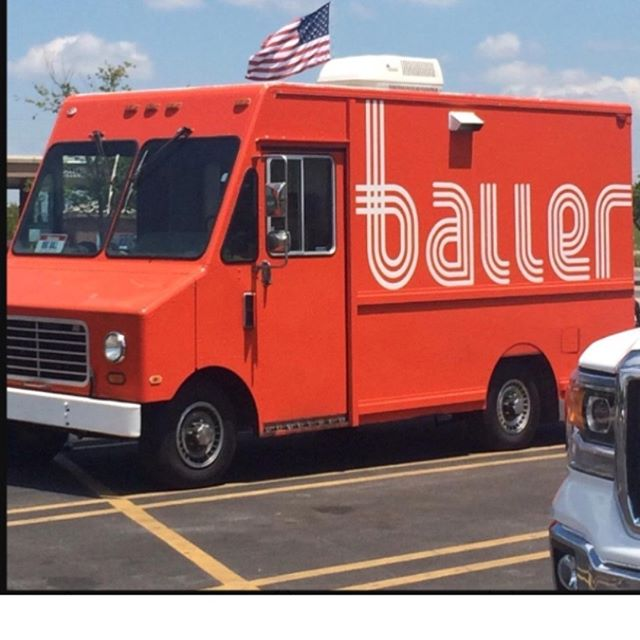 It is with a heavy heart since Kurt's passing that we have decided to sell Baller. We are going to miss you all and we are very THANKFUL for your support these last 5 years. For anyone who is interested in owning a AWESOME Foodtruck please call 479-619-6830.