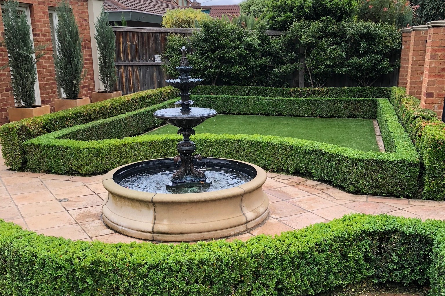 Great Team Service - We've used Anthony and his team for several projects over many years – from a large scale re-design and remodelling and replanting, to everyday garden care and maintenance. His service is great and we're very happy to recommend him.— Andrew & Caroline Neilson, Surrey Hills
